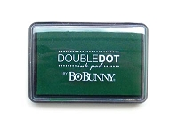 Bo Bunny - Double Dot Pigment Ink Pad - Emerald Ink Pad