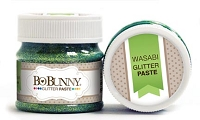 Bo Bunny - Double Dot Glitter Paste - Wasabi Glitter Paste