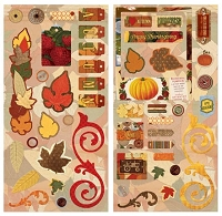 Bo Bunny - Farmers Market Collection - 6x12 Chipboard