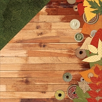 Bo Bunny - Farmers Market Collection - Barn Wood 12