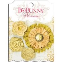 Bo Bunny - Blossoms - Natural Earth Dahlia