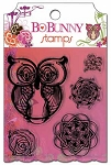 Bo Bunny-Garden Girl-Clear Stamp