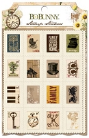 Bo Bunny - Heritage Collection - Stamp Sticker
