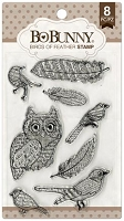 Bo Bunny - Clear Stamp - Birds of a Feather Stamp