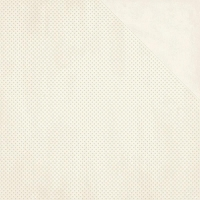 Bo Bunny - Double Dot Cardstock - French Vanilla Dot