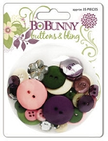 Bo Bunny - Jazmyne Collection - Buttons & Bling