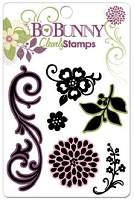 Bo Bunny - Jazmyne Collection - Clear Stamps