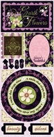 Bo Bunny - Jazmyne Collection - Simply Beautiful Stickers