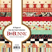 Bo Bunny - Kiss The Cook Collection - 6x6 Paper Pad
