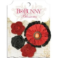 Bo Bunny - Blossoms - Wildberry Dahlia