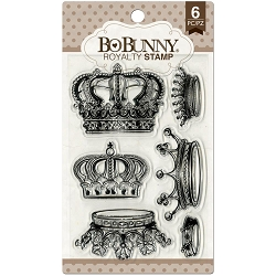 Bo Bunny - Life In Color Collection - Royalty Clear Stamp