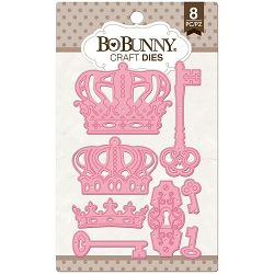 Bo Bunny - Cutting Dies - Royal Crowns & Keys dies