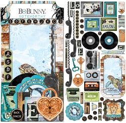 Bo Bunny - Life In Color Collection - Noteworthy Die-Cuts