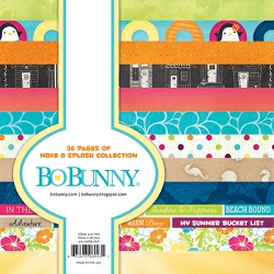 Bo Bunny - Make A Splash Collection - 6x6 Paper Pad