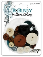 Bo Bunny - Mama-Razzi-1 Collection - Buttons & Bling