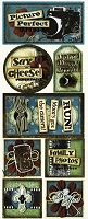 Bo Bunny - Mama-Razzi-1 Collection - Say Cheese Stickers