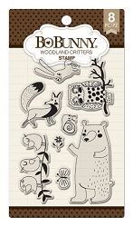 Bo Bunny - Clear Stamps - Woodland Critters Stamp