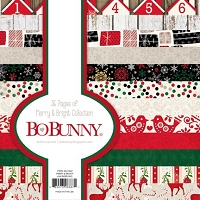 Bo Bunny - Merry & Bright Collection - 6x6 Paper Pad