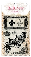 Bo Bunny - Clear Stamp - Flourishes & Such