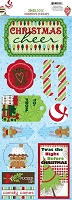 Bo Bunny - Mistletoe Collection - Christmas Cheer Sticker
