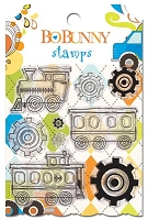 Bo Bunny - On The Go - Clear Stamp