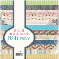 Bo Bunny - Prairie Chic Collection - 6x6 Paper Pad