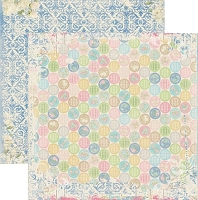 Bo Bunny - Prairie Chic Collection - 12x12 Paper - Dot