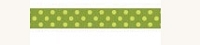 Bo Bunny - Double Dot Ribbon - 1 Yard - 5/8