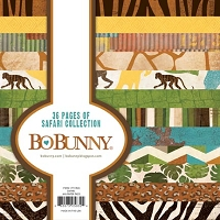 Bo Bunny - Safari Collection - 6x6 Paper Pads