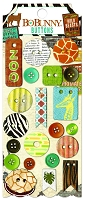 Bo Bunny - Safari Collection - Buttons