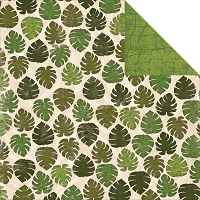 Bo Bunny - Safari Collection - Palms Paper