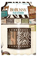 Bo Bunny - Safari Collection - Film Sticker