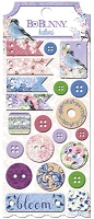 Bo Bunny - Secret Garden Collection - Buttons