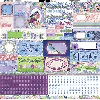 Bo Bunny - Secret Garden Collection - Combo Sticker