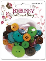 Bo Bunny - Sophie Collection - Buttons & Bling