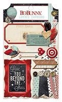 Bo Bunny - Star-Crossed Collection - Layered Chipboard