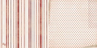 Bo Bunny - Star-Crossed Collection - Stripe Paper
