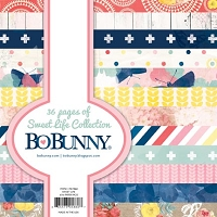 Bo Bunny - Sweet Life Collection - 6x6 Paper Pads