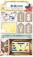 Bo Bunny - Sweet Life Collection - Layered Chipboard