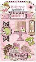 Bo Bunny - Sweet Moments Collection - Layered Chipboard