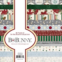 Bo Bunny - Tis The Season Collection - 6x6 Paper Pad