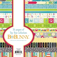 Bo Bunny - Toy Box Collection - 6x6 Paper Pad