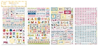 Bo Bunny - Toy Box Collection - Playtime Clear Stickers