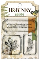 Bo-Bunny - Trail Mix Collection - Clear Stamps