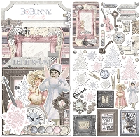 Bo Bunny - Winter Wishes Collection - Noteworthy