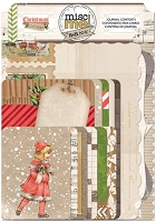 Misc Me Christmas Collage Journal Contents