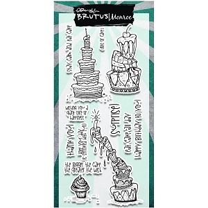 Brutus Monroe - Clear Stamps - Topsy Cakes