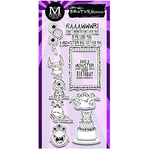 Brutus Monroe - Clear Stamps - Monster Party