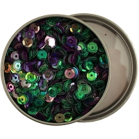 28 Lilac Lane/Buttons Galore - Sequin Tin - Bold & Bright (6mm)