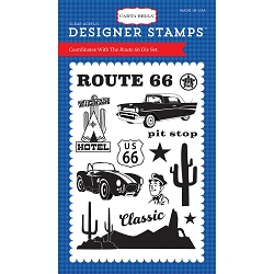 Carta Bella - Cartopia Collection - Route 66 Clear Stamp